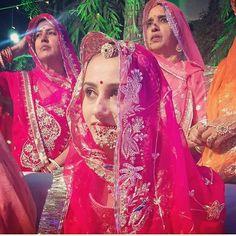 Baisa Raj Hukum in pink Poshak