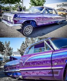 Impala with badass paint job