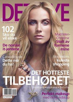 Aleksandra Ørbeck-Nilssen - Norwegian magazine cover, Det Nye  Oktober 2010