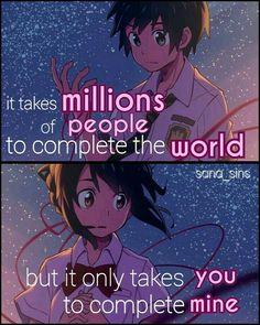 My heart can take this sadness man ❤️ Got Anime, Manga Anime, Anime Love, Sad Anime Quotes, Manga Quotes, Your Name Anime, Ken Tokyo Ghoul, Kimi No Na Wa, Memes