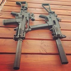 HK G36 and UMP