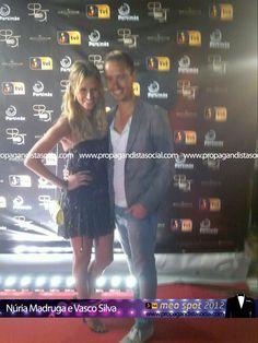 Núria Madruga e o marido. Todas as fotos em: http://propagandistasocial.com/festaveraotvi2012