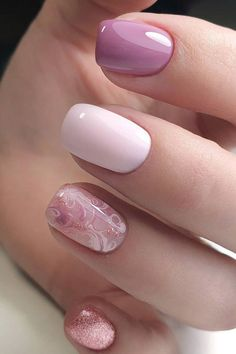 Nails 62278 The Best Wedding Nails 2020 Trends ❤ wedding nails trends cute pink design with abstract pattern emotionsssss Stylish Nails, Trendy Nails, Cute Nails, Fancy Nails, Nail Polish Designs, Nail Art Designs, Romantic Nails, Bridal Nail Art, Wedding Nails Design