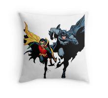 Batman & Robin Throw Pillow