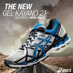 Let our all-new GEL-Kayano 21 shoes (the lightest Kayano, yet!) give you a little inspiration as you hit the pavement -> http://asics.tv/1r9fv6W