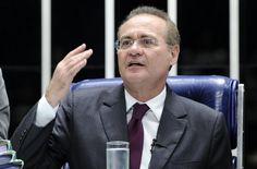 Renan quer votação eletrônica na sessão do impeachment no Senado