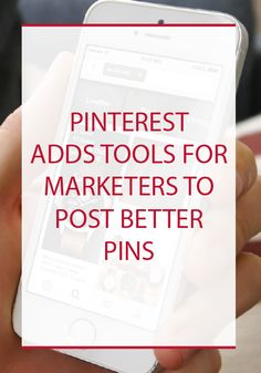 [TechCrunch] Pinterest today said that it would launch what it's calling its Marketing Developer Program, in which a set of partners will get access to new tools that allow them to better deliver more engaging content on Pinterest. [4/27/2015]