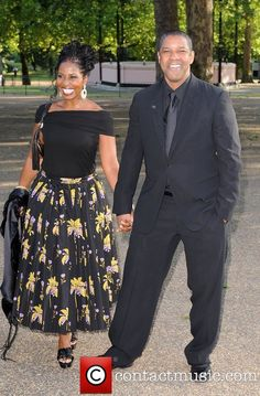 Denzel and Paulette Washington Black Celebrity Couples, Black Love Couples, Cute Couples, Power Couples, Romantic Couples, Celebrity Photos, Celebrity Style, Black Actors, Black Celebrities