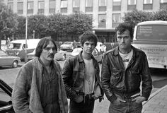 The Stranglers, Stockholm Sweden 1977  via