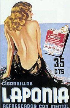 Laponia Cigarettes, 1934