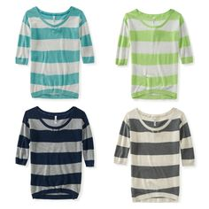 Aeropostale the light blue one=my back to school outfit lol