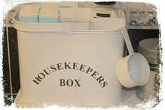 Bathroom, housekeepers box from Clas Ohlson