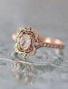 100 Antique And Unique Vintage Engagement Rings (120) #UniqueEngagementRings