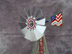 NEW smooth face style one or more 8ft Dempster Windmill Wheel Sail Fan Blade
