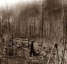 """Battlefield of the """"Wilderness"""": Confederate Entrenchments on Orange Plank Road"""