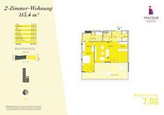 Grundrisse und Baupläne zum Bauvorhaben PRAEDIUM - Touch the sky…