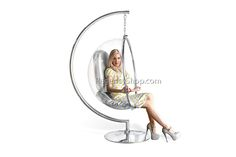 Summer furniture trend & A Summer must have!-hanging bubble chair @Regency Shop.com