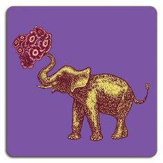 Avenida Home Puddin' Head Elephant Placemat