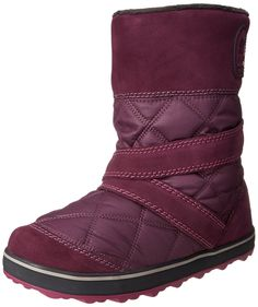 Sorel Women's Glacy Slip-On Snow Boot -- Check this awesome image  : Women's snow boots