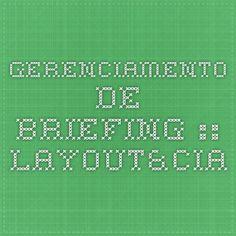 Gerenciamento de Briefing :: Layout&Cia