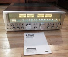 SANSUI-G33000-RECEIVER-WORKS-PERFECT-MINT-CONDITION-ALL-ORIGINAL-MANUAL-COVER