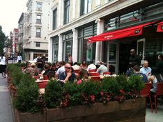 Restaurant Outdoor Dining Hospitality Design of Red Rooster Harlem, New York