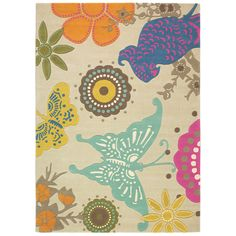 Xian Butterfly Rug by Brink & Campman. Get it now or find more All Rugs at Temple & Webster. Contemporary Rugs, Modern Rugs, Carpets Online, Tapis Design, Hand Tufted Rugs, Floor Rugs, Persian Rug, Branding Design, Kids Rugs