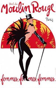 moulin rouge Revue Femmes, Femmes, Femmes, 1983