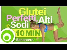 Esercizi per Glutei Perfetti in 10 Minuti. Workout per Glutei Alti e Sodi - Allenamento a Casa - YouTube