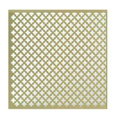 for jewelry organizer - MD Building Products 36 in. x 36 in. Cloverleaf Aluminum Sheet in Brass - 57240 at The Home Depot