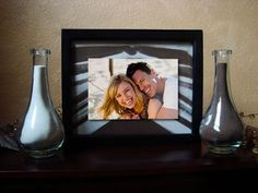 We're doing this!   Sand ceremony picture frame