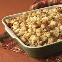 Recipe: Betty Crocker Classic Bread Stuffing with 8 Variations (Lighter, Apple-Raisin, Chestnut, Cornbread, Giblet, Mushroom, Oyster, and Sausage) - Recipelink.com