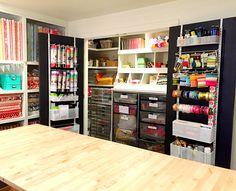 theprojectgirl-craftroom-closet-open