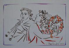 .:. Σταθόπουλος Γεώργιος – Georgios Stathopoulos [1944] Artist, Painting, Artists, Painting Art, Paintings, Painted Canvas, Drawings
