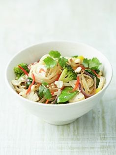 Vegetable Noodle Stir Fry | Food Revolution | Jamie Oliver -> see facebook for video https://www.facebook.com/jamieoliver/?fref=ts