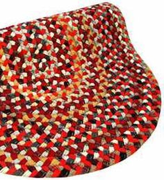 braided rugs from roving | Every cabin has to have a braided rug or 3