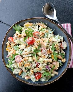 Cobb Salad, Potato Salad, Tapas, Food Porn, Easy Meals, Food And Drink, Healthy Recipes, Healthy Food, Yummy Food