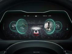 New Design in Car Dashboard No.3