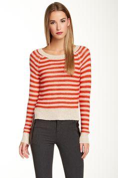 Risa Linen Blend Sweater by BCBGMAXAZRIA on @HauteLook