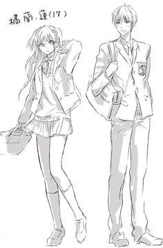 Makotos siblings grown up - from Free!