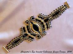 Bracciale / Bracelet Cleopatra's Eye от PerlineeBijoux на Etsy