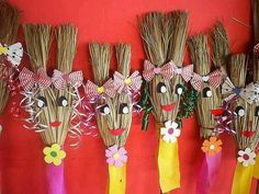 Mocinhas na festa junina Diy Home Crafts, Garden Crafts, Easy Crafts, Craft Projects, Crafts For Kids, Projects To Try, Arts And Crafts, Halloween Crafts, Halloween Decorations