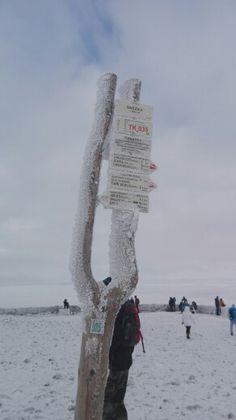 Śnieżka, Karkonosze, Poland