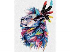 Раскраска по номерам «Король львов» Картины по номерам, paint by numbers, купить картину по номерам, новый сюжет, дизайн