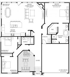 House Plan Shop 2 Floor Plans Pinterest House