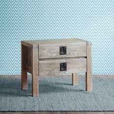 somerset ash grey nightstand bedroom pinterest gray