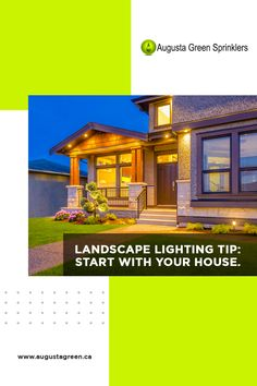 We offer a variety of design options to give your landscape the transformation you want. Our team can advise on spotlight design and help you choose from our wide array of products. We will lead you to the lighting fixtures that fit your style and the layout of your front and back yards. Sprinkler, Landscape Lighting, Irrigation, Gardening Tips, Yards, Spotlight, Toronto, Backyard, Layout
