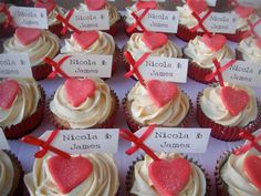 Sweet Wedding Cupcakes and Cake Pops by Sugar Ruffles