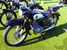 1956 honda benly JC 125cc | vintagefocus.com