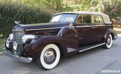 1939 Cadillac V16 Fleetwood Convertible Sedan Conversion